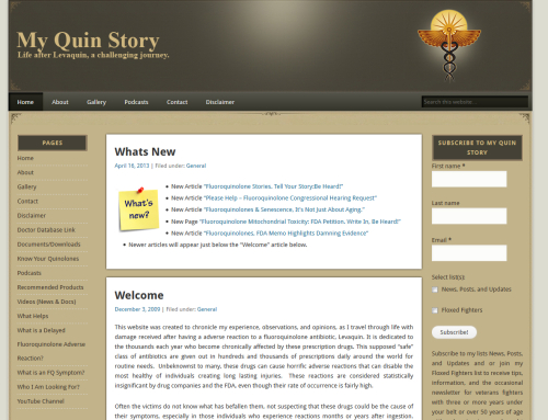 My Quin Story